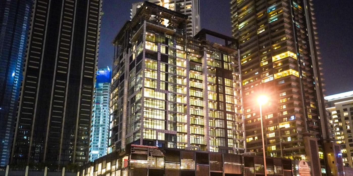 """""""إلينغتون العقارية"""" تعلن عن قرب استكمال  مشروع """"دي تي 1"""" في وسط مدينة دبي"""