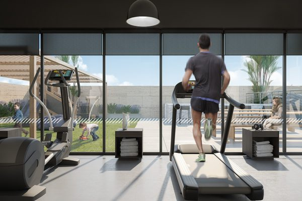 Ellington_Belgravia Heights II_Interior Visual_Fitness Studio 1-A