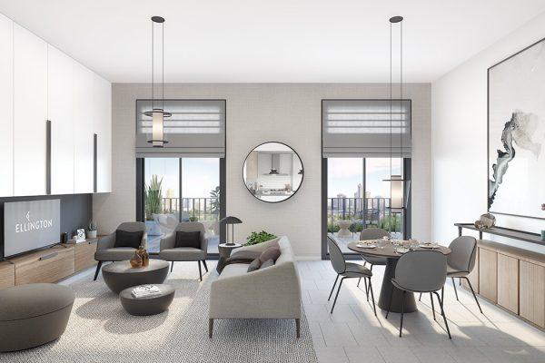 Ellington_Belgravia Heights II_Interior Visual_Living  Dining