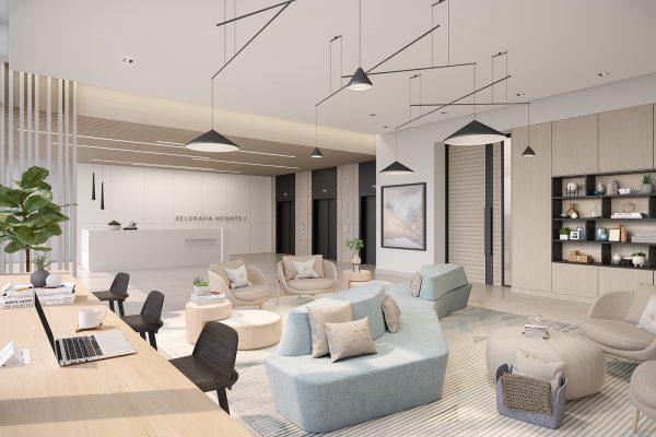 Ellington_Belgravia Heights I_Interior Visual_Main Lobby