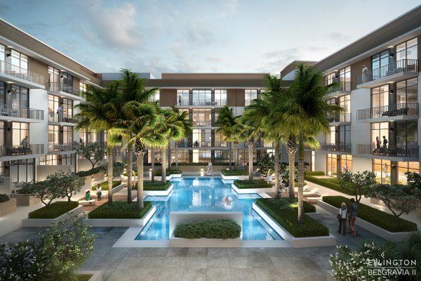 Ellington_Belgravia II_Exterior Visual_Courtyard 1