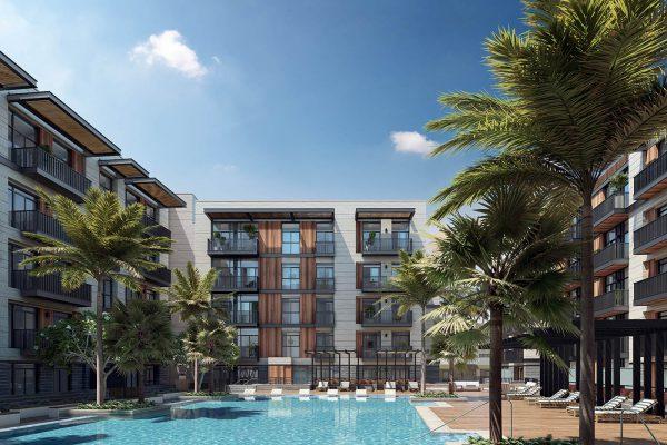Ellington_Belgravia Square_Exterior Visual_Pool View 1