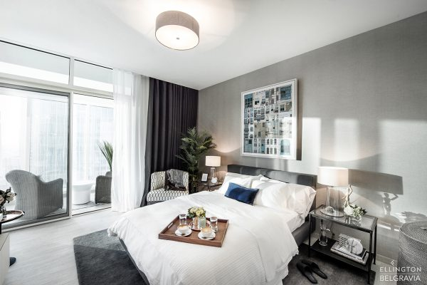 Ellington_Belgravia_Model Suite_Bedroom