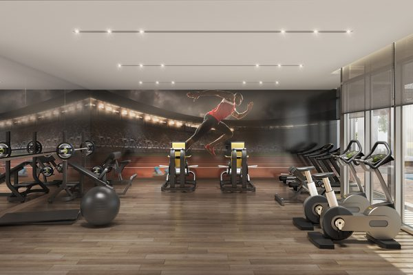 Ellington_DT1_Interior Visual_Fitness studio
