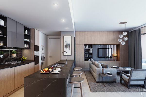 Ellington_DT1_Interior Visual_Kitchen
