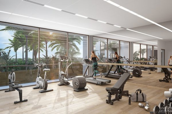 Ellington_Eaton Place_Interior Visual_Fitness Studio