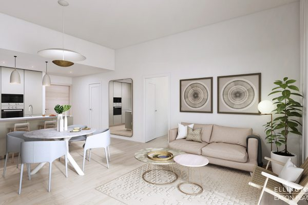 Ellington_Eaton Place_Interior Visual_Living