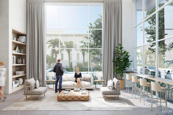 Ellington_Eaton Place_Interior Visual_Lobby