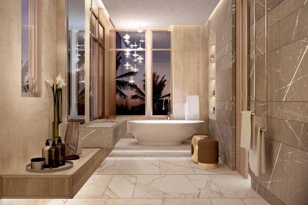 Palm Villas_Interior Visual_Master Bathroom 01