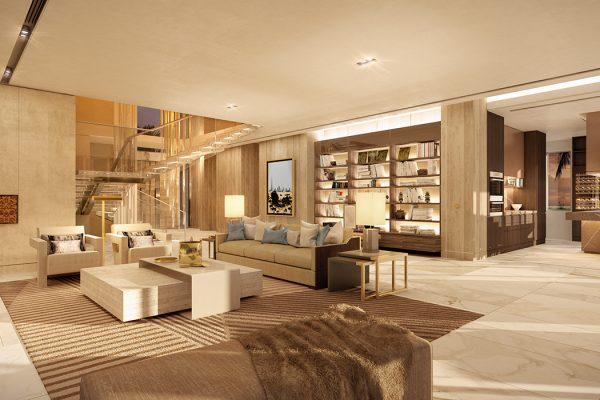 Palm Villas_Interior Visuals_Living Room