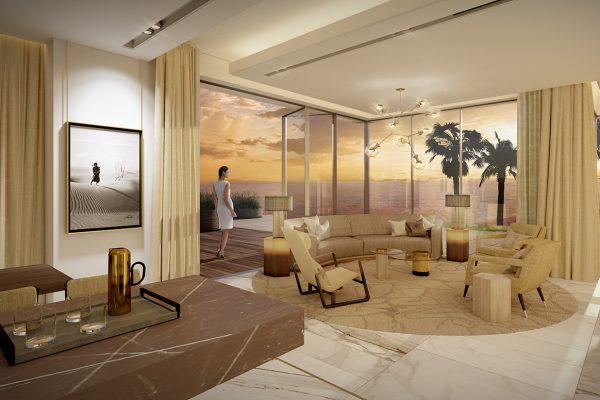 Palm Villas_Interior Visuals_Sitting Room