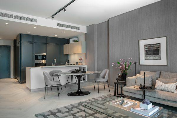 Wilton Park - Model Suite - Living Room