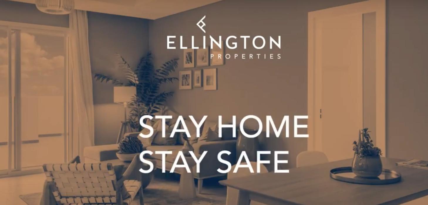 """""""إلينغتون العقارية"""" تنشر فيديو بعنوان """"بيتك هو ملاذك الآمن"""" يشجع سكان المجتمع على البقاء آمنين في منازلهم"""