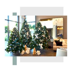 Christmas tree at Ellington Properties community in Belgravia II