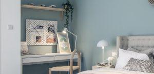 Eaton place bedroom desk