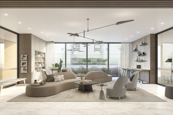 Ellington_Belgravia Heights II_Interior Visual_Main Lobby