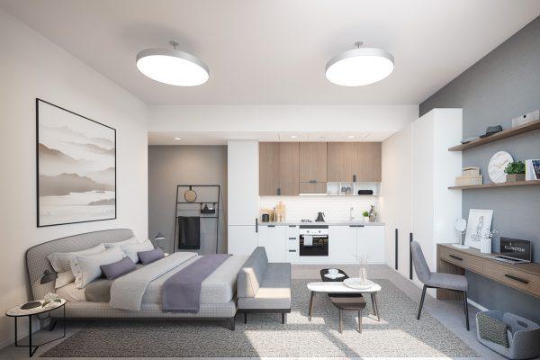 Ellington_Belgravia Heights II_Interior Visual_Studio Apartment