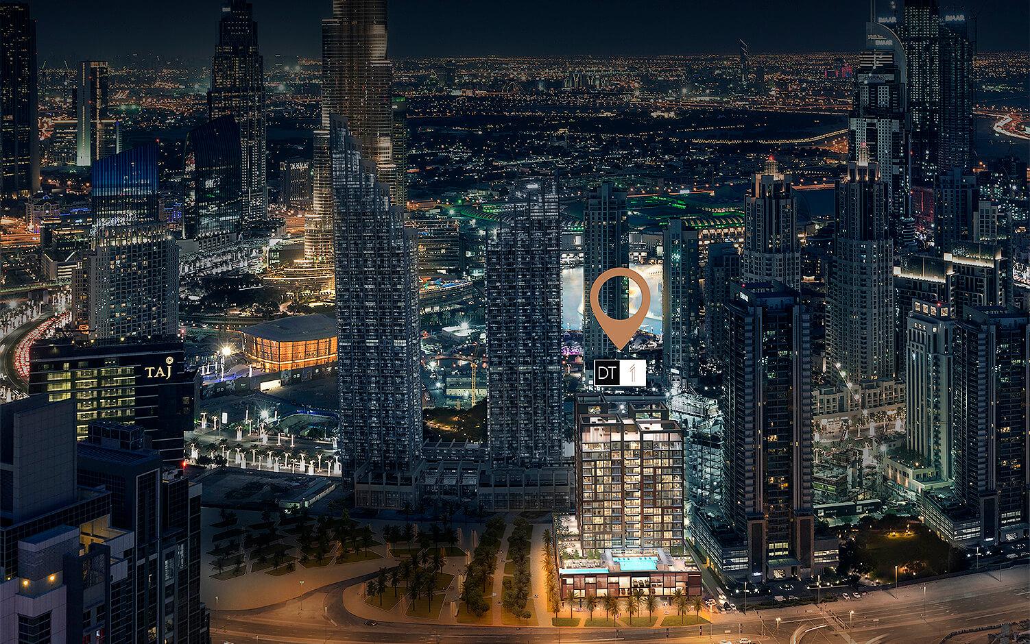 dt1 in Downtown Dubai